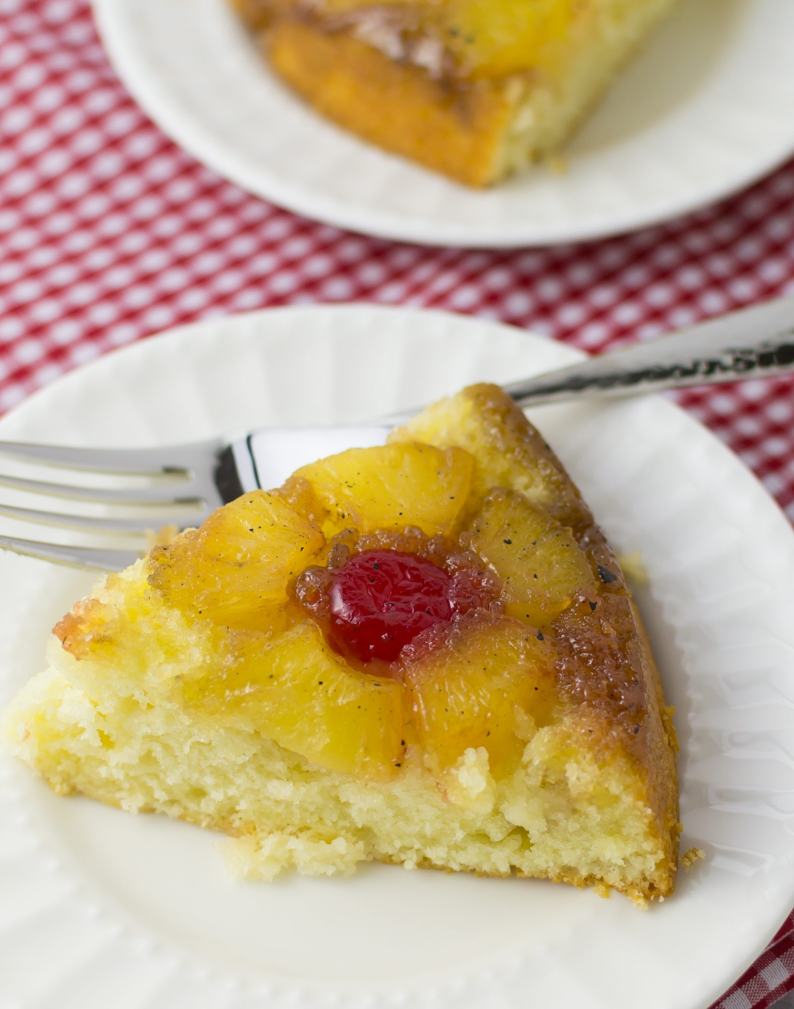 PINEAPPLE UPSIDE DOWN CAKE | Little Spice Jar