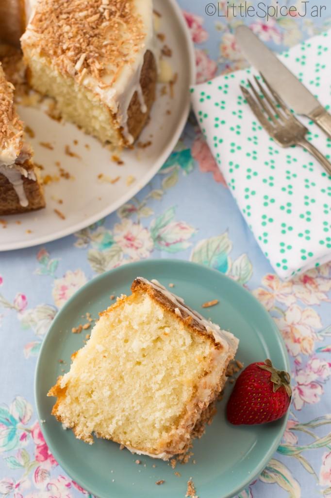 Louisiana Crunch Cake Recipe | Little Spice Jar