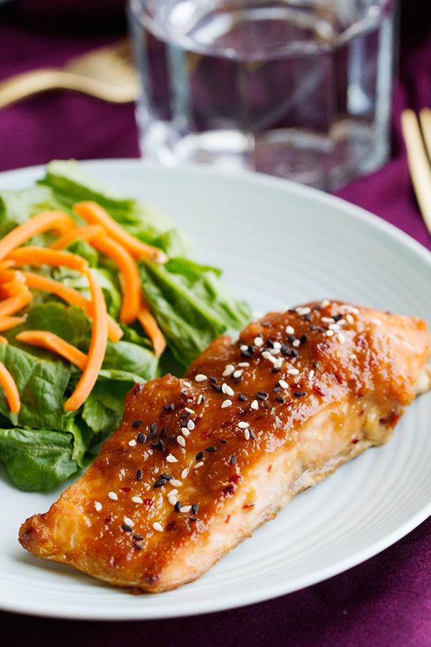 Easy Miso Glazed Salmon Recipe | Little Spice Jar